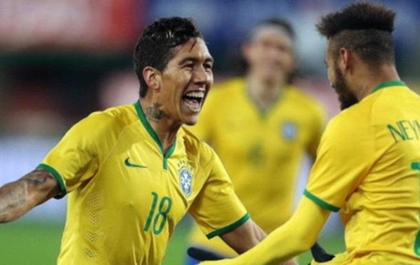 Неймар, Фірміно і Нерес викликані в збірну Бразилії на Копа Америки