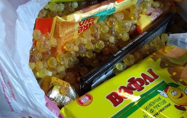 В аеропорту Бориспіль знайшли партію бурштину в солодощах