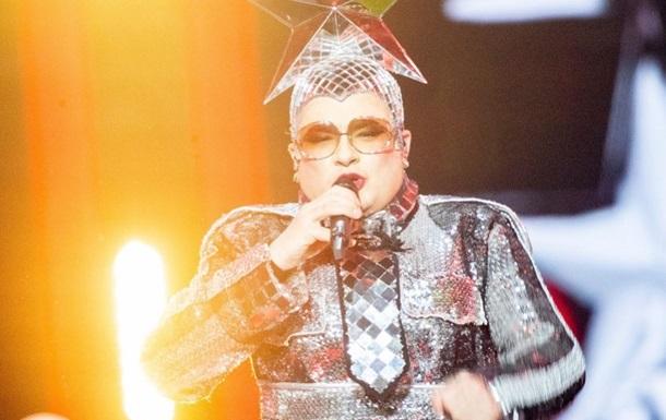 Вєрка Сердючка запалила на Євробаченні