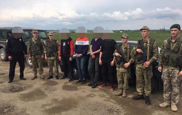 Через Украину в ЕС нелегально пытались попасть шестеро иностранцев
