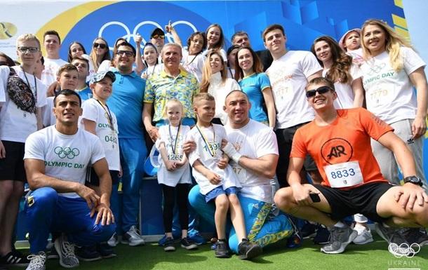 Київ яскраво відзначив Олімпійський день