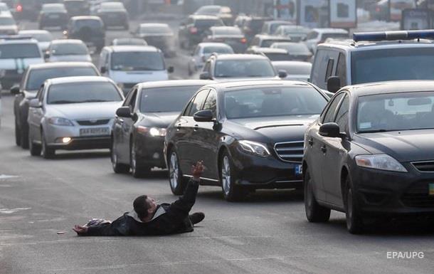У Києві затори: що коїться на дорогах