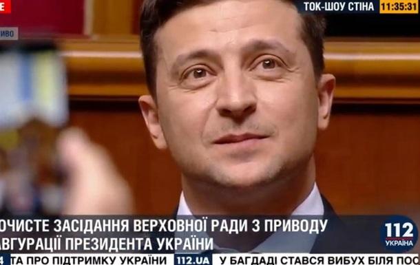 С шестым президентом, Украина!