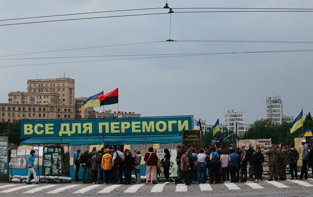 Апеляційний суд відмовився заборонити намет волонтерів у Харкові
