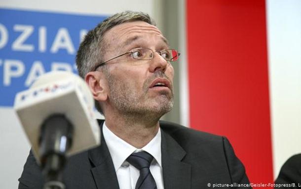 Австрійські правопопулісти відкликають усіх міністрів з уряду