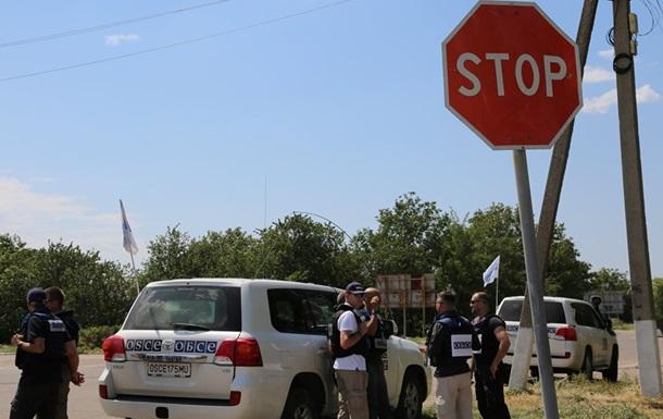 Поблизу патруля ОБСЄ на Донбасі прогриміли вибухи