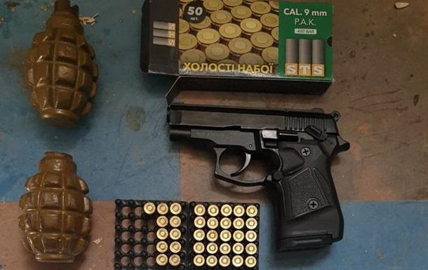 У Луганській області затримали іноземця зі зброєю