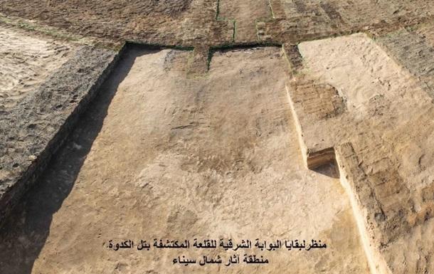 В Египте обнаружили гигантскую древнюю крепость