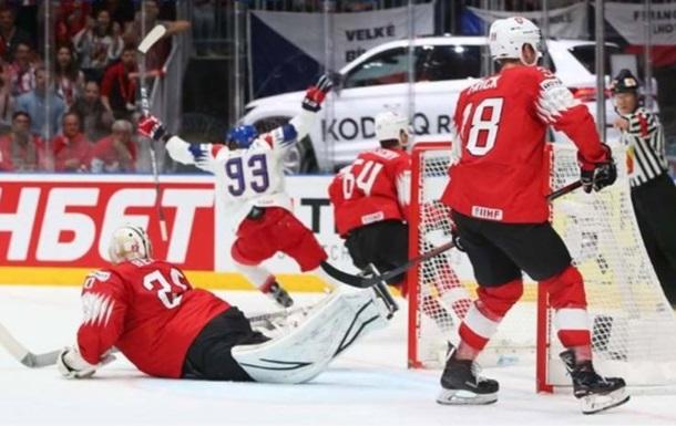 ЧМ по хоккею: Чехия вырвала победу у Швейцарии, Германия обыграла Финляндию