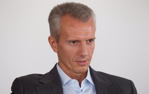 В Украину прилетел не Хорошковский, а его жена