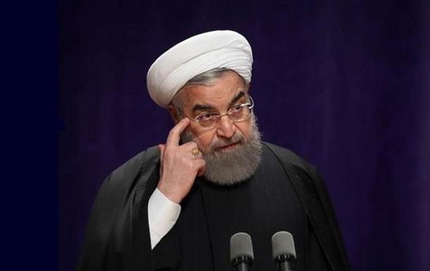 Президент Ірану вважає, що Трамп відмовився від ідеї війни з його країною