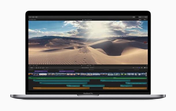 Представлено новый MacBook Pro с восьмиядерным процессором