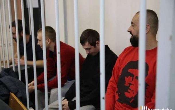 Суд у Москві залишив під арештом вісьмох українських моряків
