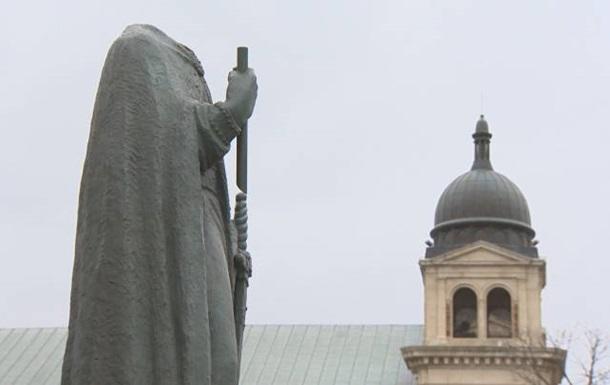 У Канаді обезголовили пам ятник Володимиру Великому - ЗМІ