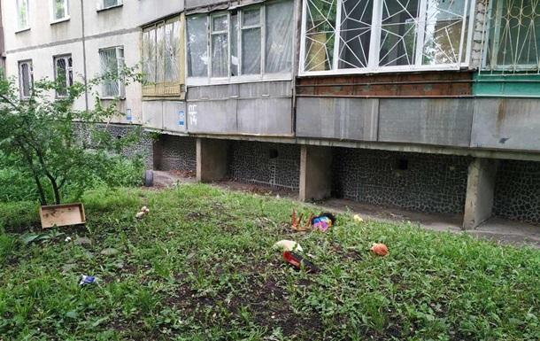 Выпавшего с балкона ребенка в Харькове спас прохожий