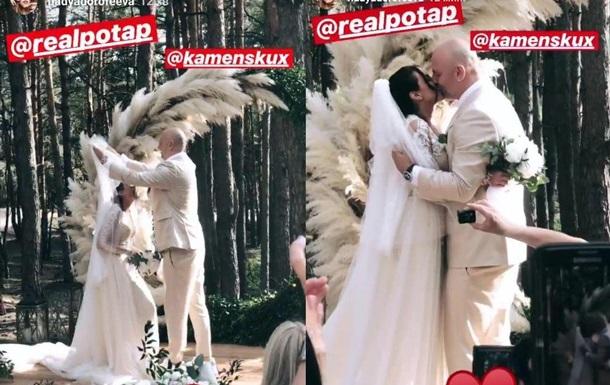 З явилося відео з весілля Потапа і Каменських