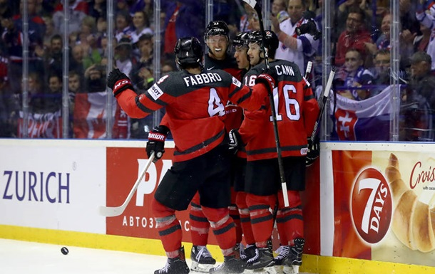 ЧМ по хоккею: Канада вырвала победу у Швейцарии, США уступили России