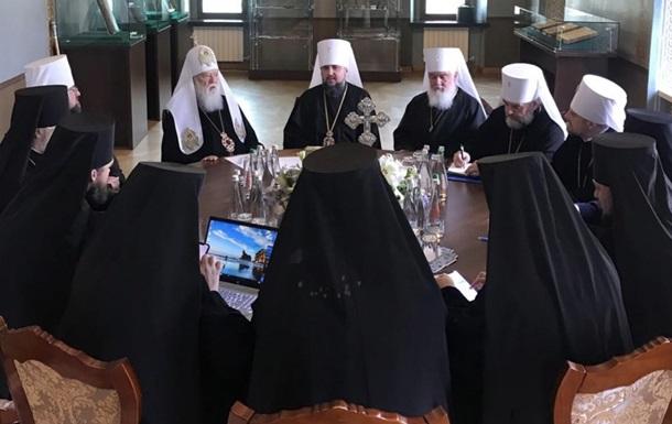 Филарет приехал на синод ПЦУ