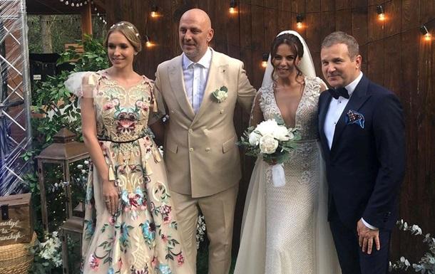Стали відомо, хто відвідав весілля Каменських і Потапа