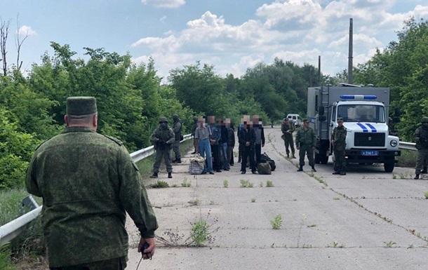 ЛНР  передала Україні 60 ув язнених