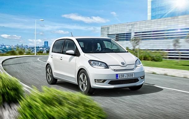 Skoda официально представила электрокар Citigo-e iV