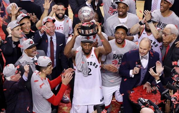 Торонто впервые в истории вышел в финал НБА, обыграв Милуоки