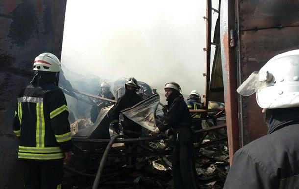 У Харкові сталася масштабна пожежа