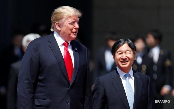 Трамп провел встречу с новым императором Японии