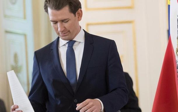 Австрійський парламент розгляне питання недовіри канцлеру Курцу