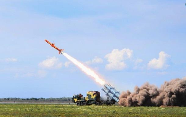 Військові випробували ракетний комплекс Нептун