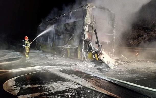 У Польщі згорів автобус Київ-Прага