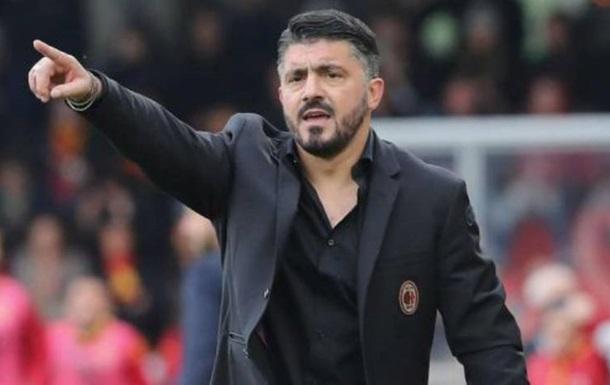 Гаттузо объявил об отставке с поста главного тренера Милана