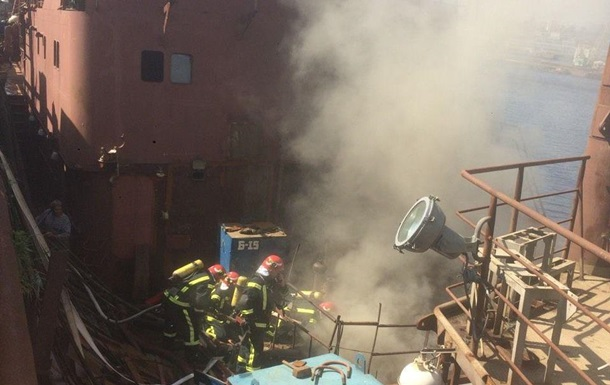 Пожежу на  Кузні  в Києві ліквідовано
