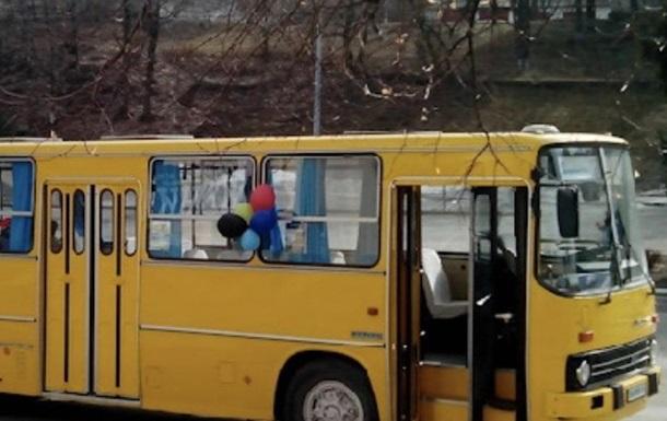 У Києві викрали раритетний автобус
