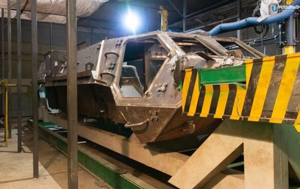 Житомирский бронетанковый завод остановил работу