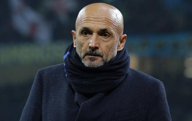 Спаллетті покинув пост головного тренера Інтера