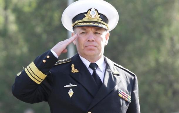 Заместителем Хомчака может стать экс-командующий ВМС Сергей Гайдук