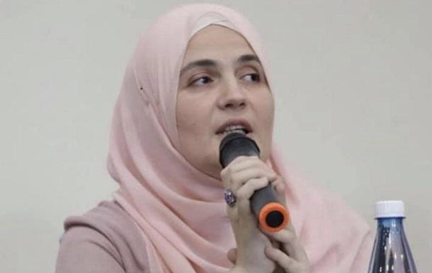 Задержана еще одна крымскотатарская активистка