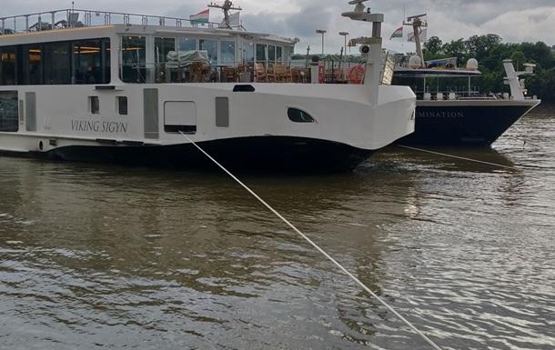 Задержан капитан судна, столнувшегося с катером на Дунае