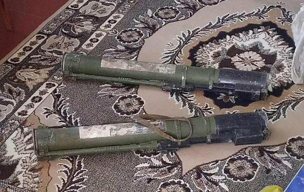 У жителя Полтавської області вилучили два гранатомети