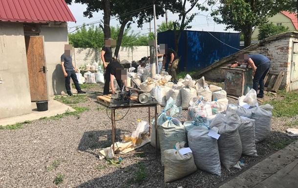 СБУ вилучила дві тонни бурштину в Київській області