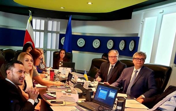 Украина договаривается о безвизе с Коста-Рикой