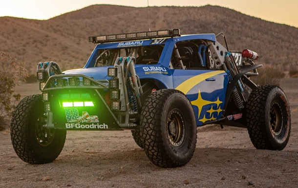 Subaru представил багги Crosstrek Desert Racer