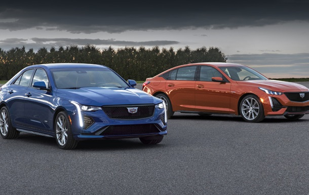 Cadillac представив найпотужніші седани лінійки V-Series