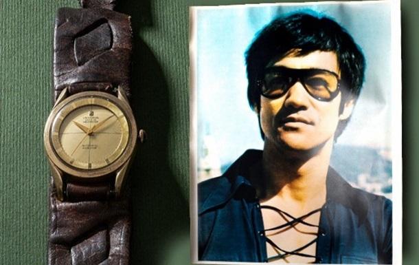 Золотий годинник Брюса Лі пустили з молотка за €25 тис