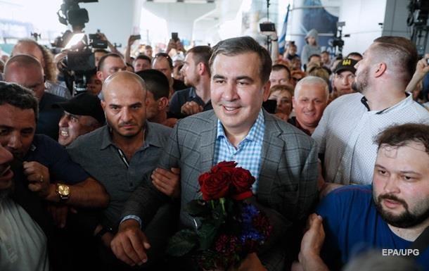 Саакашвили поделился впечатлениями от Киева