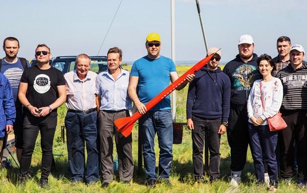 Українські студенти вперше запустили ракету