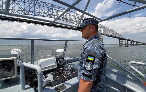 Військові катери США для України завершують випробування