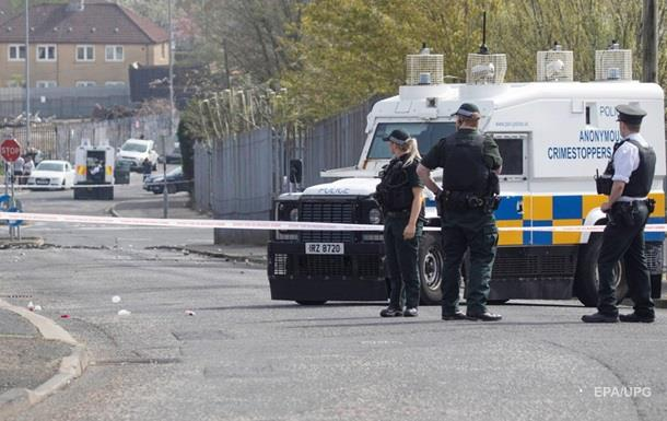 У Північній Ірландії виявили бомбу під машиною поліції