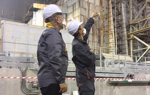 Министр иностранных дел Франции посетил Чернобыль